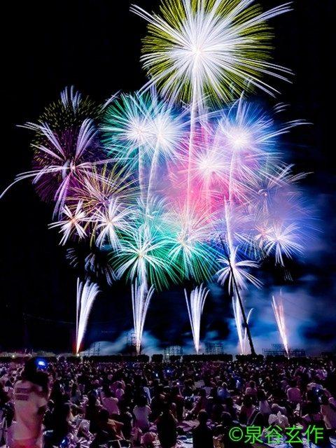 ふくろい遠州の花火(静岡県)