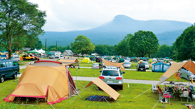 キャンプ 場 里山 まつもと