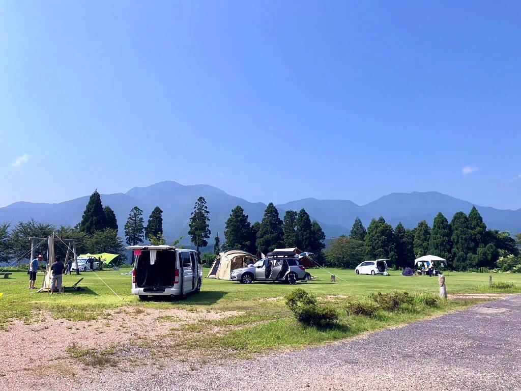 キャンプ 湯 たま 場 の